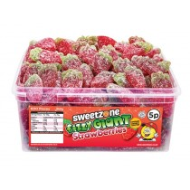 Fizzy Giant Strawberries Tub (Sweetzone) 120 Count