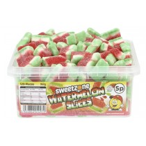 Watermelon Slices Tub (Sweetzone) 120 Count