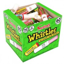 WHISTLES (SWIZZELS MATLOW) 60 COUNT