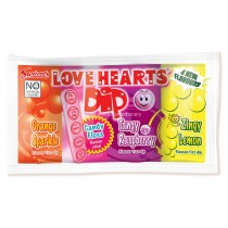 MEGA LOVE HEARTS DIP (SWIZZELS) 36 COUNT