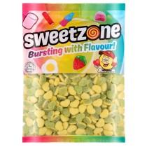 Apple & Custard Hearts (Sweetzone) 1kg