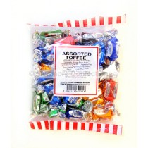 monmore confectionery assorted toffee 225g bag