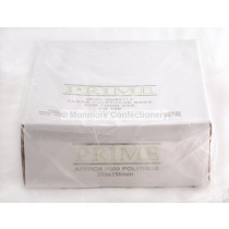 CLEAR POLYTHENE BAGS 8INCH X 10INCH (1000 COUNT)