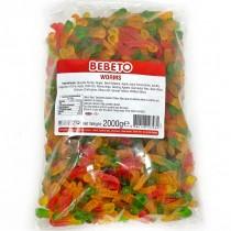 JELLY WORMS (BEBETO) 2kg