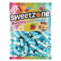 Blue Raspberry Slices (Sweetzone) 1kg