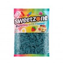 Fizzy Blue Raspberry Bottles (Sweetzone) 1kg Bag