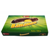 Chocolate Banana Gift Box 150g (Carletti) 8 Pack