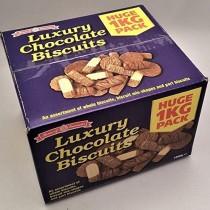 LUXURY CHOCOLATE BROKEN BISCUITS 1KG