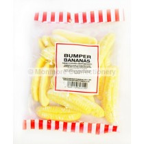 monmore confectionery bumper foam bananas 200g bag
