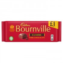 Cadbury Bournville Classic Dark Chocolate 18x100g
