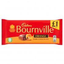 Cadbury Bournville Orange Dark Chocolate 18x100g