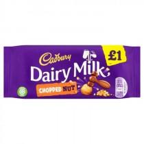 Cadbury Dairy Milk Chopped Nut 22x95g