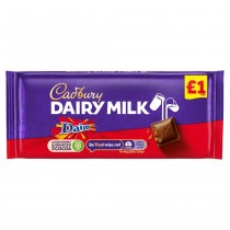 Cadbury Dairy Milk Daim Chocolate 18x120g
