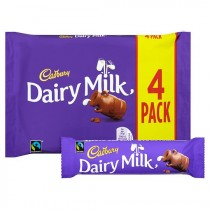 cadburys dairy milk 4 pack