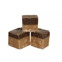 CHOCOLATE & VANILLA FUDGE (FUDGE FACTORY) 2KG
