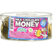 MILK CHOCOLATE COINS (KINGSWAY) 120 COUNT