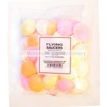 monmore confectionery flying saucers 50g bag