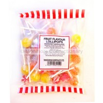 FRUIT LOLLIPOPS (MONMORE) 200g