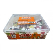 FRUITY FROGS TUB (HARIBO) 250 COUNT