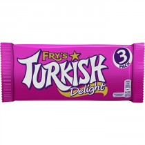 FRYS TURKISH DELIGHT 22x3 PACK