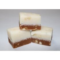 THE FUDGE FACTORY NUTTY SPLIT FUDGE 2KG