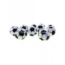 Milk Chocolate Foiled Footballs (Glisten) 3kg