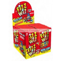 Fizz Wiz Strawberry Popping Candy (Hannah`s) 50 COUNT