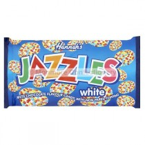 WHITE CHOCOLATE FLAVOUR JAZZLES BAGS (HANNAH`S) 24 COUNT