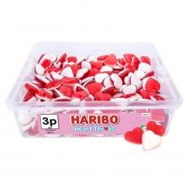 HEART THROBS TUB (HARIBO) 250 COUNT