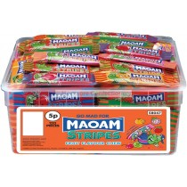 MAOAM STRIPES TUB (HARIBO) 120 COUNT