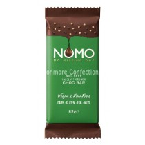 NOMO HAZELNOT CHOCOLATE BAR 12 x 82g