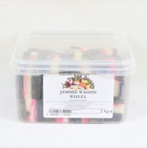 Jammie Wagon Wheel Fudge (Fudge Factory) 2kg