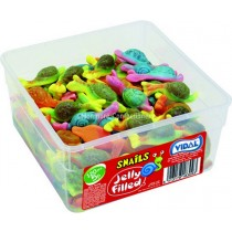 JELLY FILLED SNAILS (VIDAL) 120 COUNT