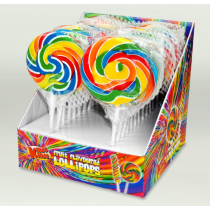 Kandy Kandy Swirly Round Lollies 24 x 55g