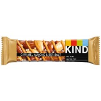 Caramel Almond & Sea Salt Bar 40g (Kind) 12 Count