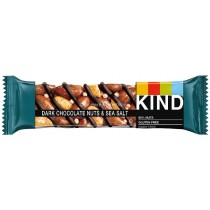 Dark Chocolate Nuts & Sea Salt Bar 40g (Kind) 12 Count