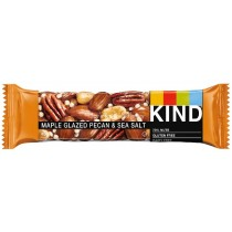 Maple Glazed Pecan & Sea Salt Bar 40g (Kind) 12 Count