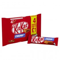 Kit Kat Chunky Milk Chocolate Bar 32g 24x4 Pack