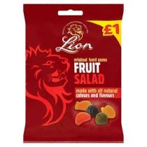 FRUIT SALAD GUMS (LION) 12x £1 PMP