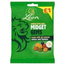 MIDGET GEMS (LION) 12x160g £1 PMP
