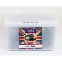 Liquorice Fudge (Stockleys) 2kg