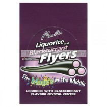 LIQUORICE & BLACKCURRANT FLYERS (MAXILIN) 40 COUNT