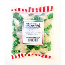 monmore confectionery menthol and eucalyptus 250g bag
