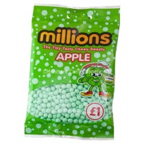 APPLE FLAVOUR 100G BAGS (MILLIONS) 12 COUNT