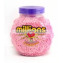 RASPBERRY FLAVOUR (MILLIONS) 2.27kg FULL JAR
