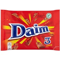 Daim Bar 24 x 3 bar Multipack