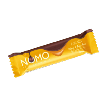 Nomo Caramel Filled Vegan Chocolate Bar 38g Dairy Gluten Egg & Nut Free