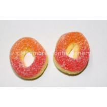 MINI PEACH RINGS (PARK LANE) 2KG