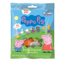 PEPPA PIG FRUITY GUMMIES 12x120g BAGS