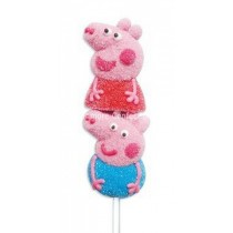 Peppa Pig Marshmallow Pops (Bazooka) 16 Count